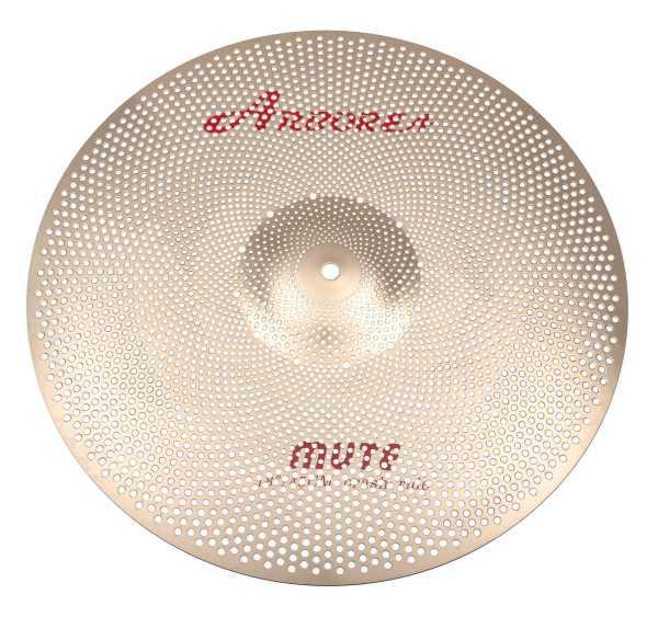 "Arborea B8 MUTE Low Noise Cymbal 18"" Crash / Ride"