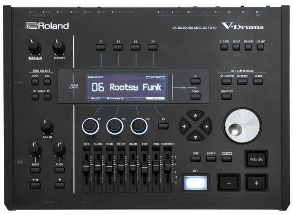 drum-tec pro Stage mit Roland TD-50DP