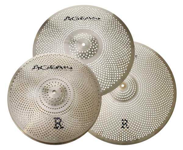 "Agean ""R"" Low Noise Cymbals Set "" Rock"""