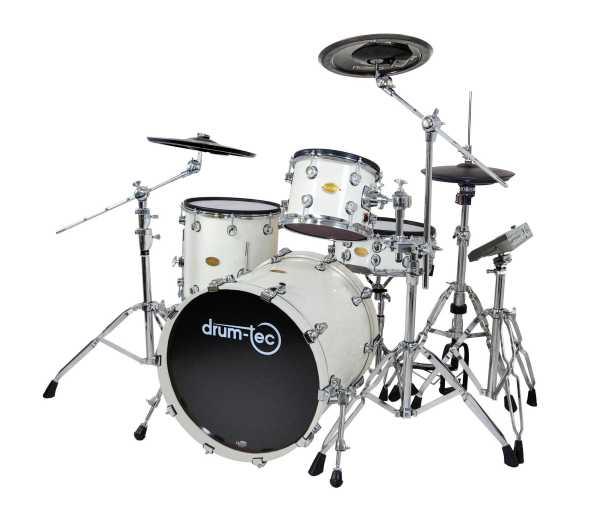 drum-tec pro Jazz mit Pearl Mimic Pro (white)