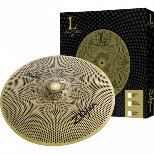"ZILV8020R Zildjan L80 Low Volume Serie 20"" Ride"