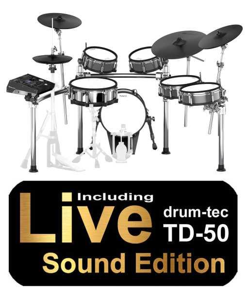 Roland TD-50KV drum-tec Edition MK2