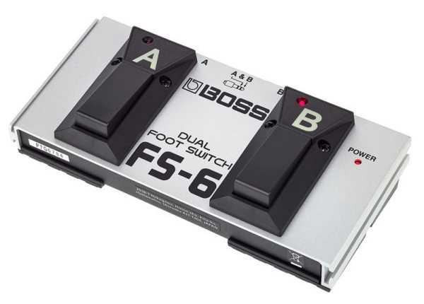 Roland FS-6 Foot Switch Doppel-Fußtaster/-Schalter