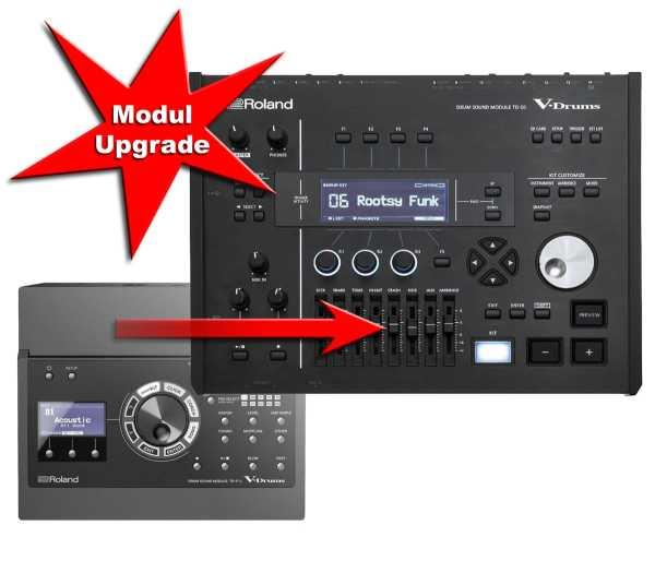 Modul Upgrade Roland TD-17 zu Roland TD-50