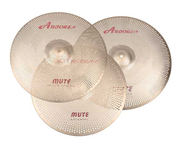 Arborea Bronze-8 Low Noise Cymbal set 480