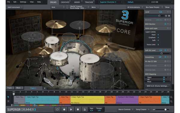 Toontrack Superior Drummer 3.0 SSD