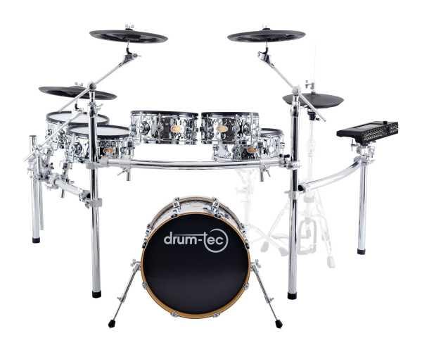 drum-tec diabolo Stage Plus mit Pearl Mimic Pro