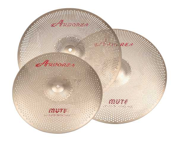 Arborea Bronze-8 Low Noise Cymbal set 368