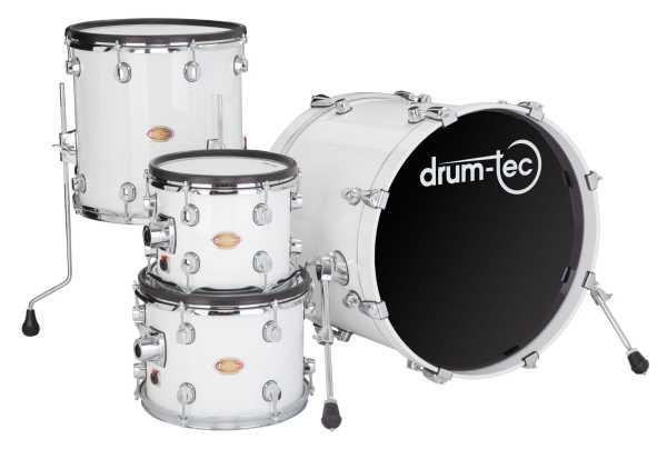 drum-tec pro 4-tlg. Shell Set (white)