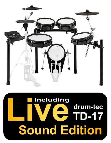 ATV EXS-3 drum-tec Edition mit Roland TD-17 und