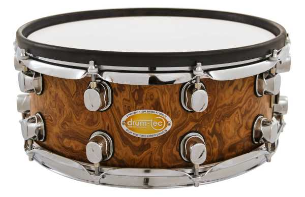 "drum-tec pro-s Snare 14 x 5,5"" (walnut roots)"