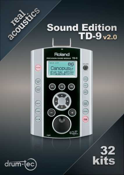 Real Acoustics Sound Edition Roland TD-9 v2.0