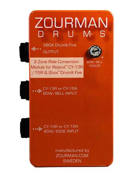 Zourman 2Box conversion box for Roland / ATV