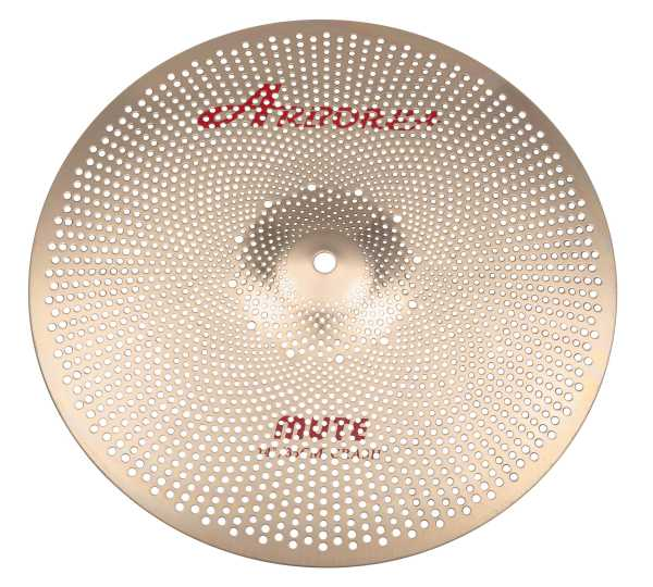 "Arborea B8 MUTE Low Noise Cymbal 14"" Crash"