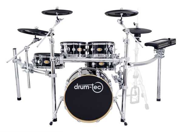 drum-tec diabolo Stage mit Pearl Mimic Pro (black)