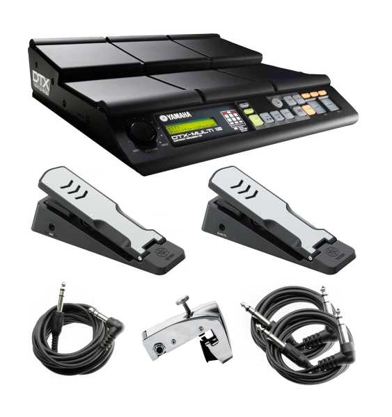Yamaha DTXM12 Multipad Expansion Bundle