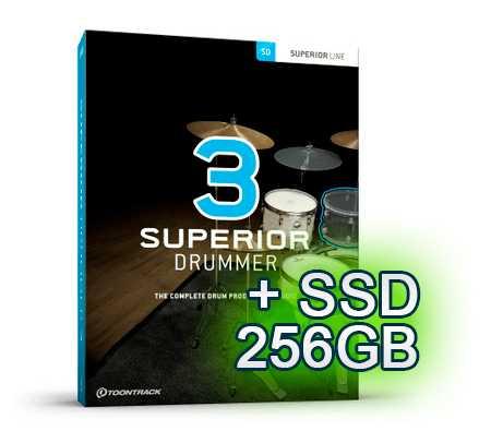 Toontrack Superior Drummer 3.0 Komplett