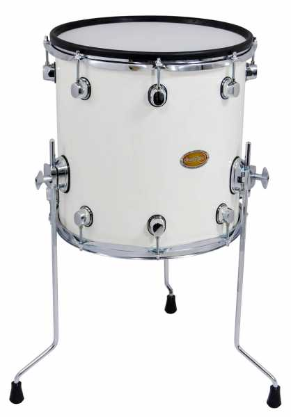 "drum-tec pro Floor Tom 14"" x 14"" (white)"