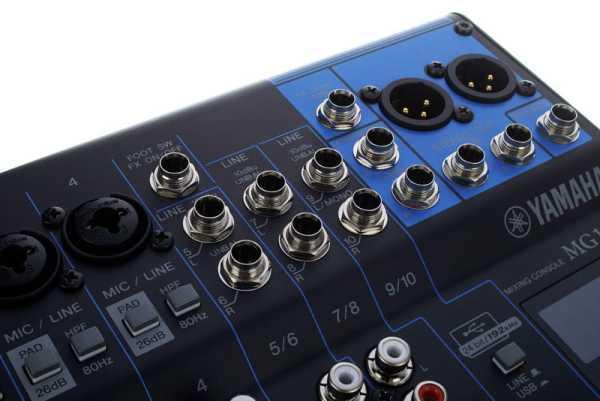 Yamaha MG10XU 10 Kanal Mixer mit Effekten